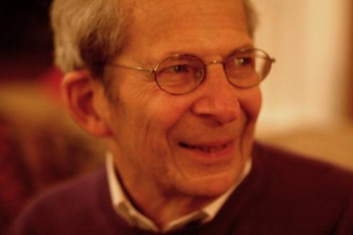 Burt Zollo on his 86th birthday, March 7, 2009