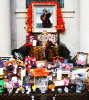14 Self portrait in Altar