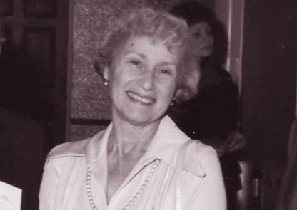 Marjorie Guthrie, 1977.